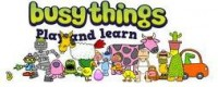 Busy Things - Play and Learn logo