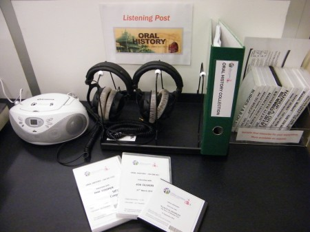 Oral History Listening Post