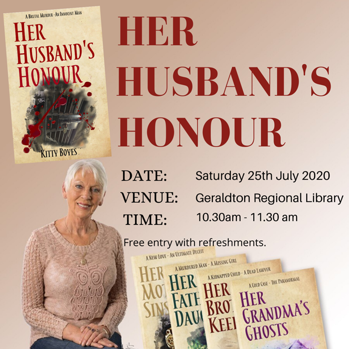 Her Husband's Honour Book Launch