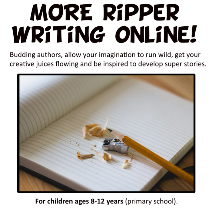 More Ripper Writing Online!