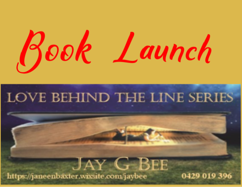 Book Launch - Love Behind the Lines Series