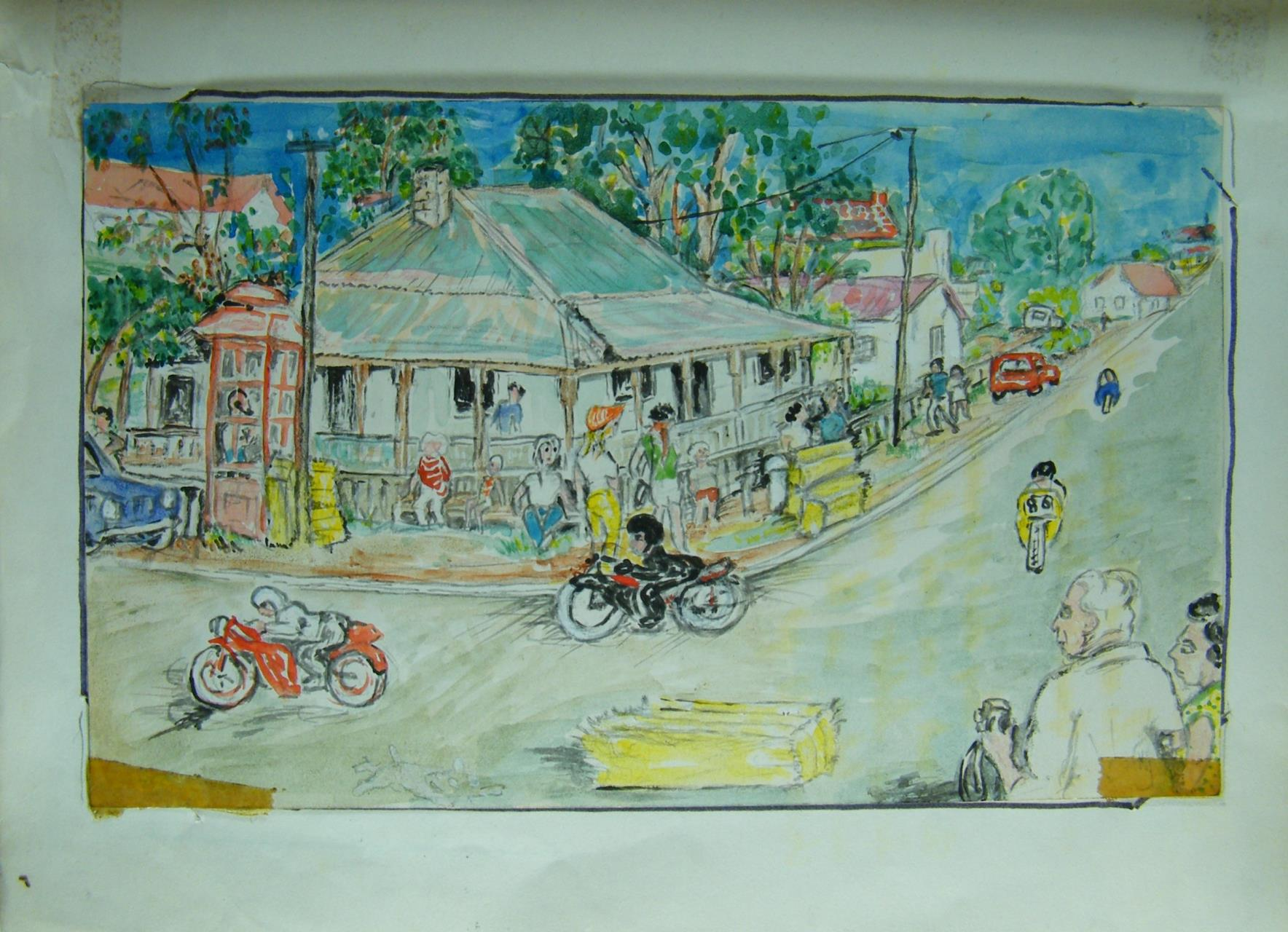 Snapshot - Motor Cycles Round the Houses