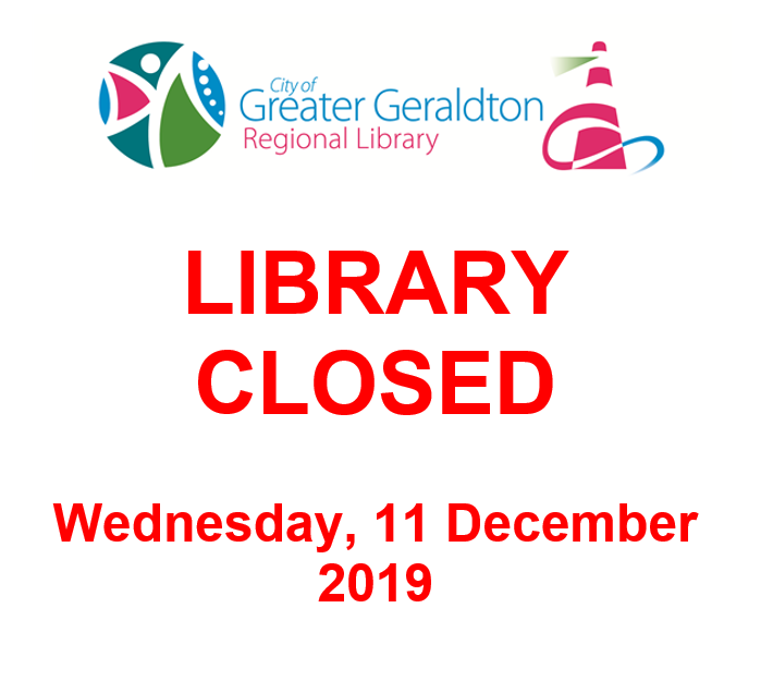 Library Closing Early - 11 December 2019